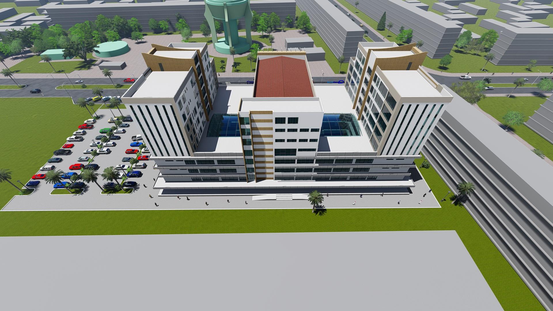 Michenzani Mall – Aerial View