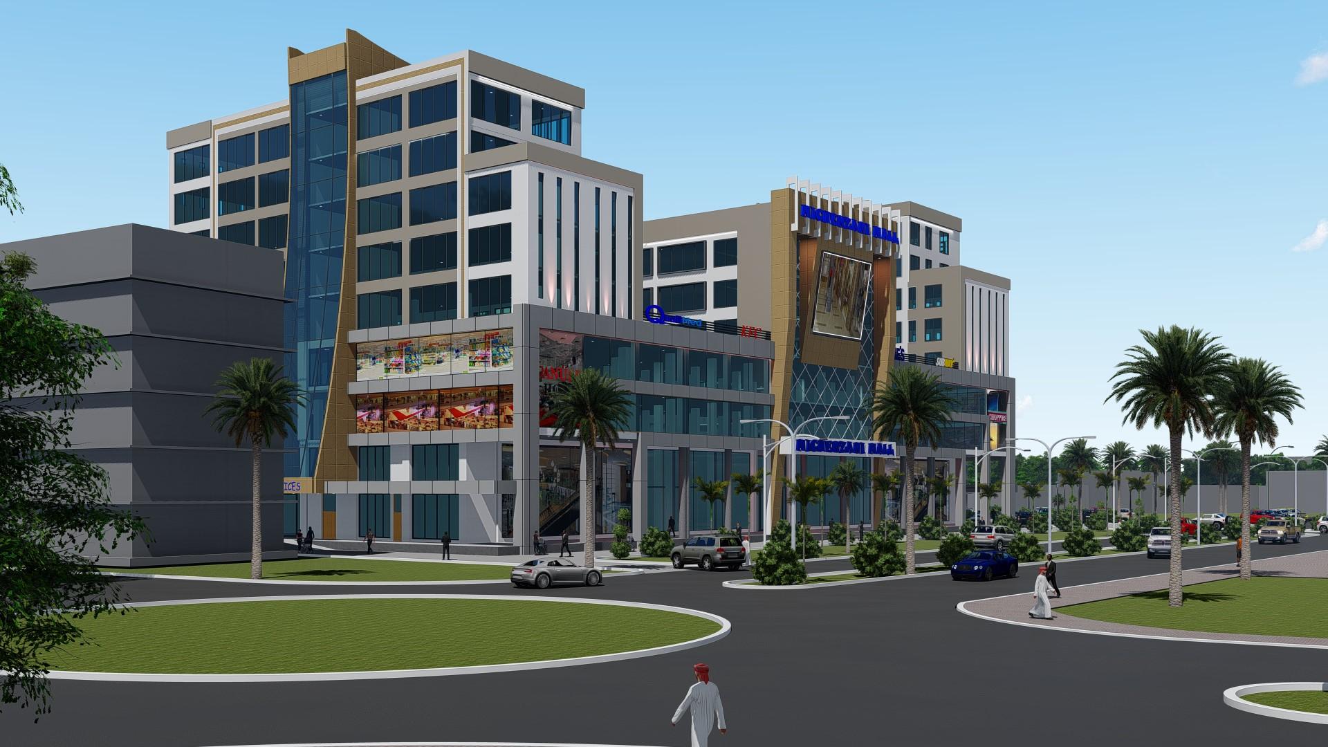 Michenzani Mall-Day View