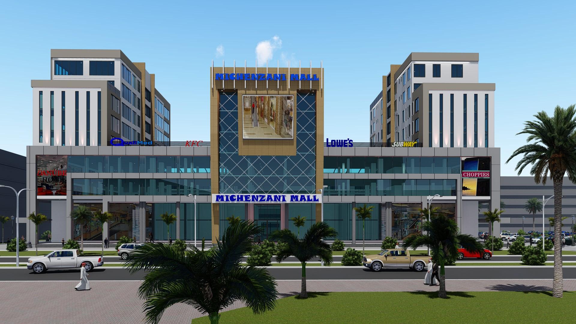 Michenzani Mall – Front View