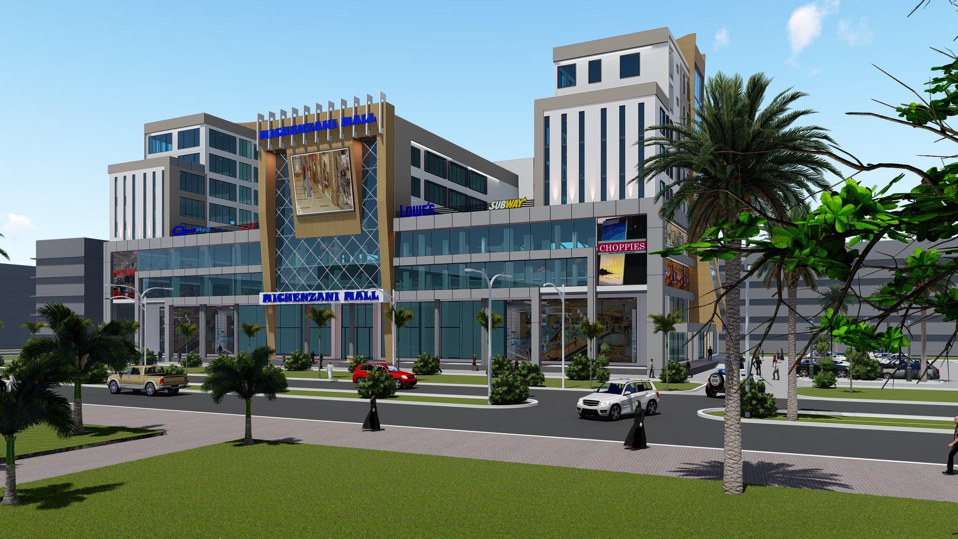 Michenzani Mall – FrontView