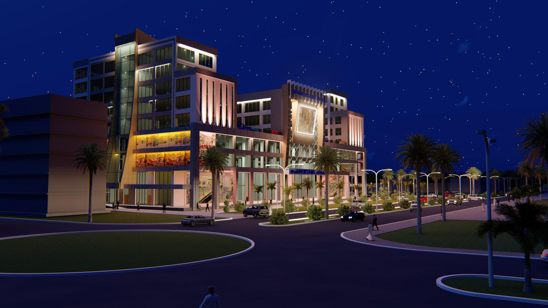 Michenzani Mall