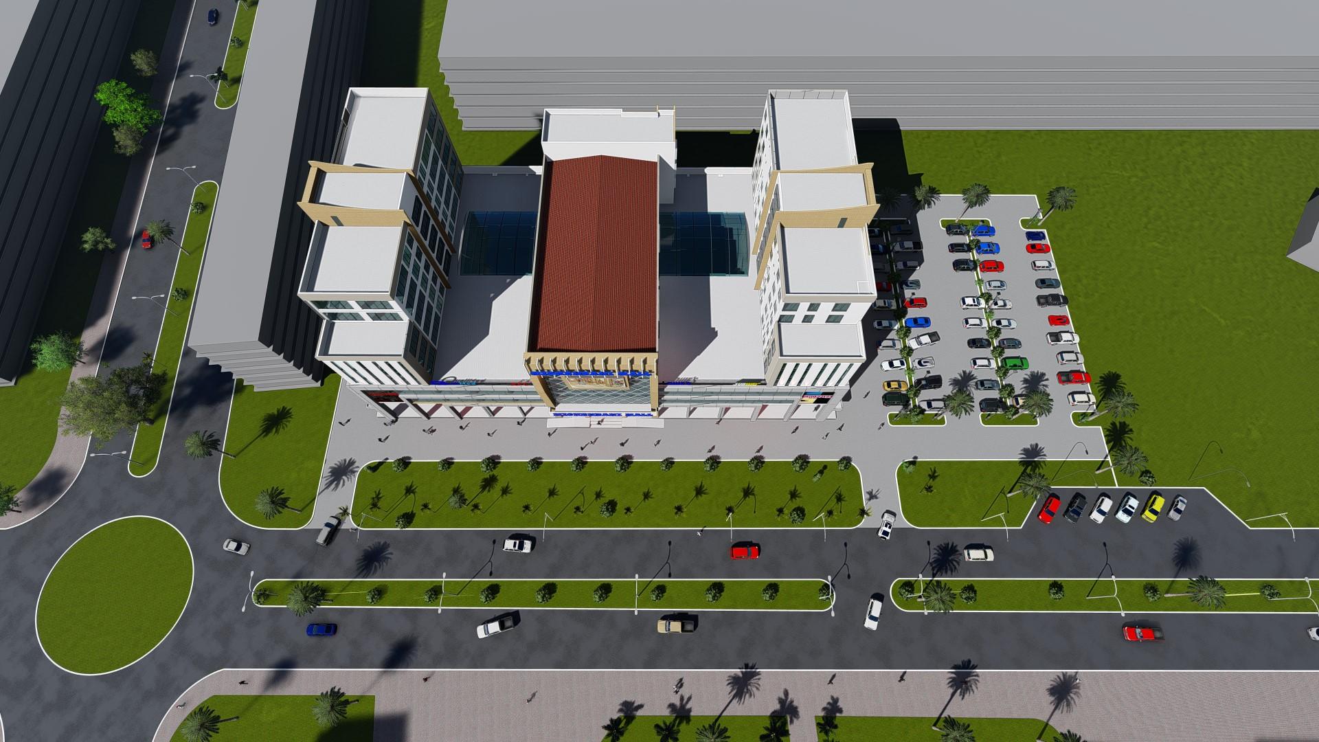 Michenzani Mall – Top View